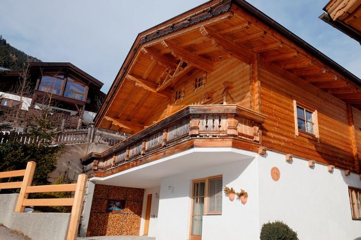 Stubaiblick-Haus v. unten