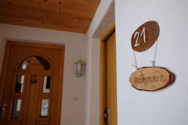 Stubaiblick-Eingang