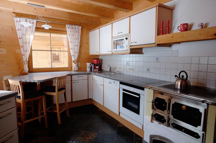 Stubaiblick Küche